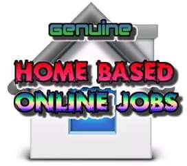 Genuine home based online part-time job