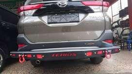 Ready towing / pengaman belakang model overland - Terios