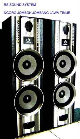 speaker pasif dobel 8 inchi
