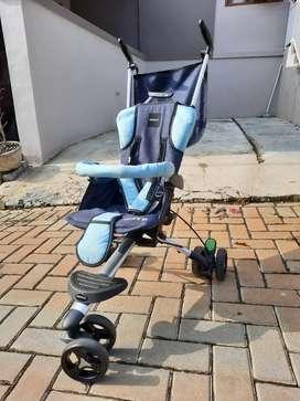 Stroller Wave Biru