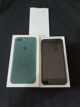 {Second Berkah} IPhone 7 Plus 128gb IBox Likenew Garansi Agustus