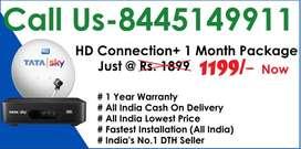 Fire Stick Free+ Tata sky DTH -Airtel Dish tv D2H Tatasky - All India