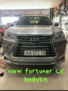 Fortuner lexus face-lift bodykit