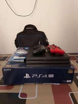 Dijual PS 4 Pro 1 TB Nego Tipis