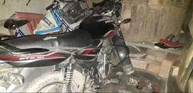 Bajaj Discover...100 cc..one hand bike...