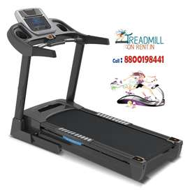 Gym cycle Exercise bike fitness equipment Treadmill on rent