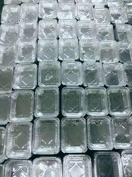 Fully automatic Aluminum foil containe machine.