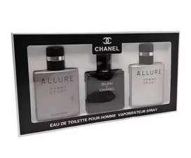 Chanel gift set for men 3 in 1