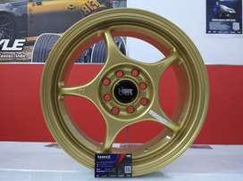 Kredit Velg Mobil Nissan March, Baleno dll Ring 15 HSR
