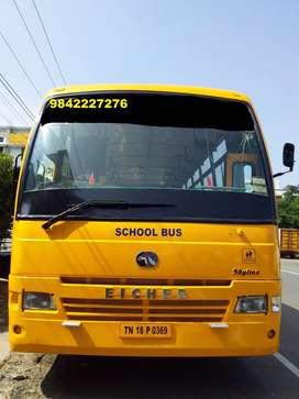 school bus eicher 2012 model 60 seats