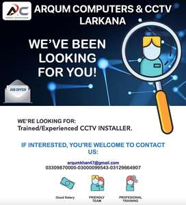 CCTV Installer & IT Technician.
