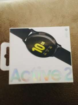Samsung galaxy watch active 2 canadian import box pack