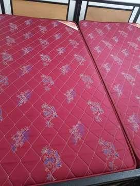 Kurlon mattress 02 Pieces for urgent sale