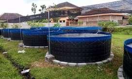 kolam bundar D2 T1,2 meter