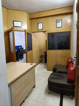 1 cabin reception with 10 seat for rent sector 2 noida