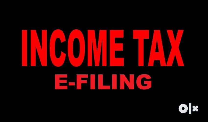 Rs.1000/- Income tax E-filing