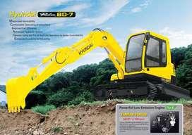 Hyundai Mini Excavator R80 8 Ton sekelas PC78
