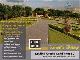 HARGA BANTING Kavling Tanah Special Full Fasilitas Pinggir Jalan