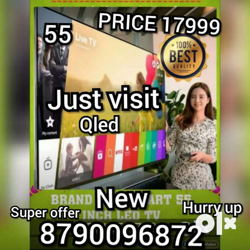 55 INCH BRAND NEW SMART led tv full hd smart WITH 2 year warranty 0