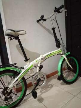 Dijual sepeda lipat ukuran 20 siap gowes