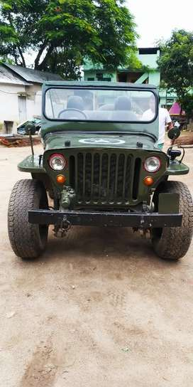 Modified Jeep with Bolero engine, power steering, power clutch & brake