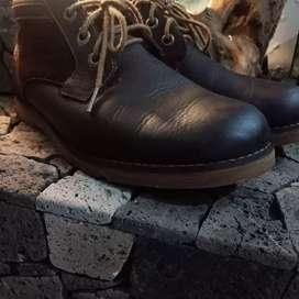 Timberland semi boot kulit