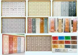 Pintu Besi Press Ruko Lipat/Tikung,Folding Gate,Pintu Steel