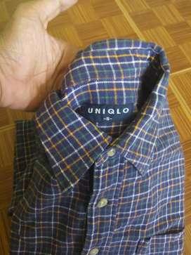 flanel Uniqlo Original