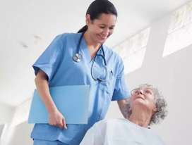 We need female patient attendant