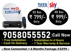 IPL Special Dhamakha Offer!! 6 Month Free! Tata sky HD Tatasky Dishtv!