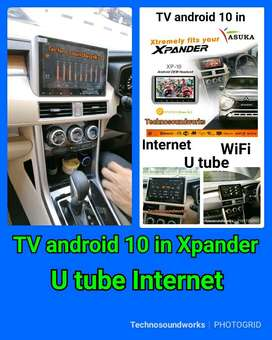 Asuka XP-10 in Android xpander internet Tv mobil double 2din Livina