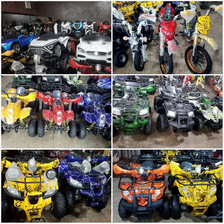 Full verity of ATV QUAD 49 cc to 248 cc Reconditioned Brand new 0 mtr. 0