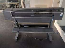 Hp designjet 800ps color plotter avilable for sale.42inch print width.