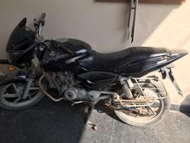 Pulsar bike all spair parts available engine is perfect