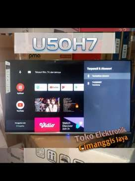 TERMURAH Smart TV 50 inch ANDROID 9.0 Ultra HD 4K CHANGHONG