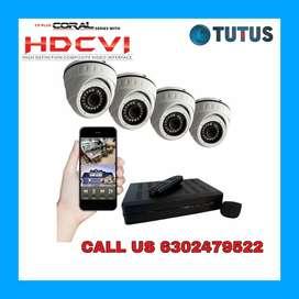 Sale Branded AHD+ CCTV CAMERAS SETUP