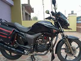 Sell a new condition Hero Hunk 150cc bike