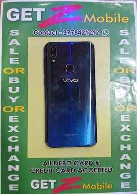 Vivo V11 Starry night Black ( 2 days phone)