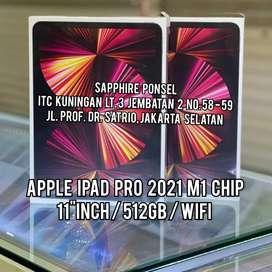 """Ready IPAD PRO M1 11"""" 2021 512GB WIFI(NEW) -Bs COD/Tt/Kredit No CC"""