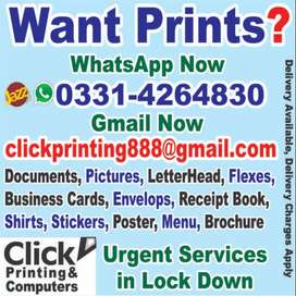 Lock Down Printing & Computer Laptop Services