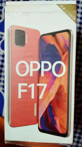 Oppo f 17  6GB / 128 GB one' months old