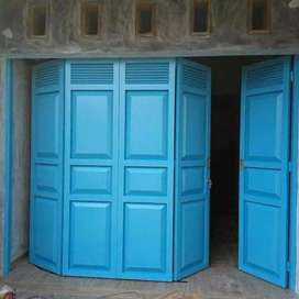 Pintu lipat garasi ataupun toko