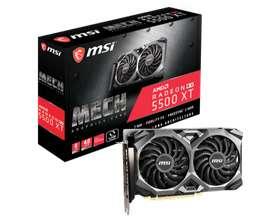 VGA MSI Radeon RX 5500 XT Mech 8G OC