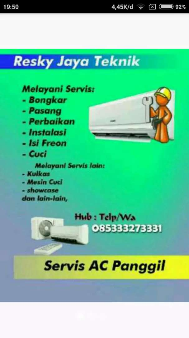 Resky : pasang ac second ( isi freon ac) 0