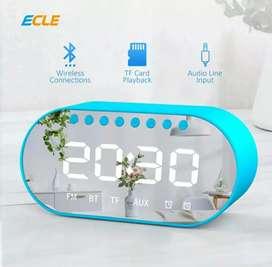 Speaker ECLE Bluetooth Wireless  Alarm Clock original