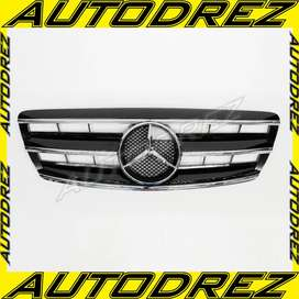 Grill Grille Mercy S-Class W220 AMG CL Facelift Chrome Black 2004-2006