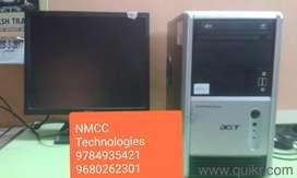 Branded used acer c2d full set desktop 4gb ram 250gb lcd