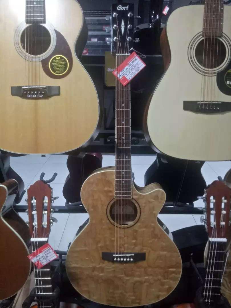 Cort E/Acoustic Gitar SFX AB NAt Kredit Jakarta 0