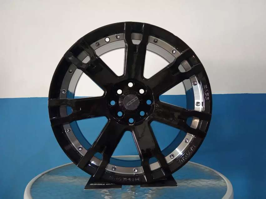 RAYS F7S black ring 17 x7.5 h8x100/114.3 et38 Avanza sirion Agya Brio 0