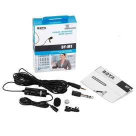 Boya by-M1 Lapel Microphone for Smart Phone, Action Cameras, DSLR
